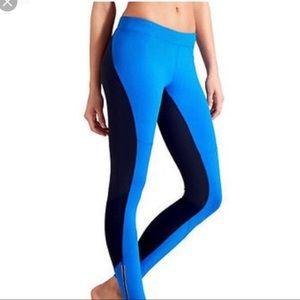ATHLETA yoga pants leggings royal blue size M